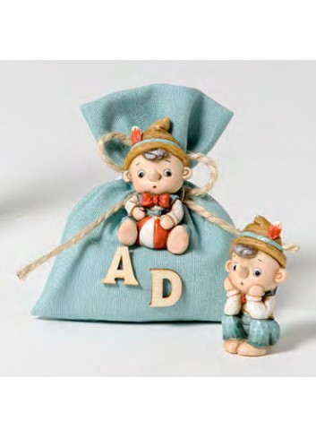 Magnete Pinocchio + sacchetto 2 modelli assortiti 130571-A Pinocchio Ad Emozioni