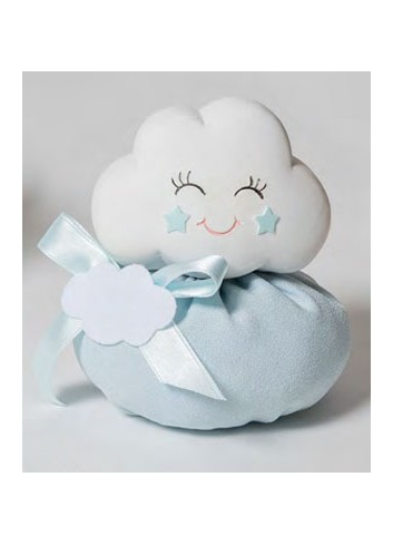 Salvadanaio Nuvola celeste + sacchetto 130582-A3 Cielo Ad Emozioni