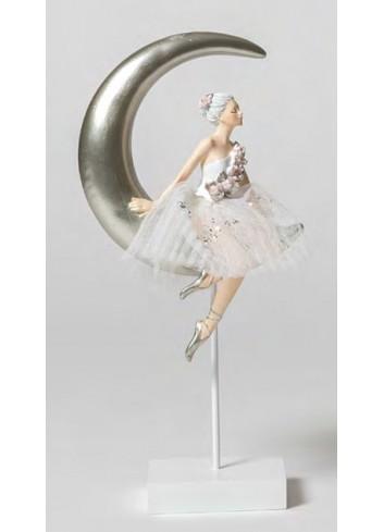 Ballerina piccola su Luna B1803 Il lago dei Cigni Ad Emozioni