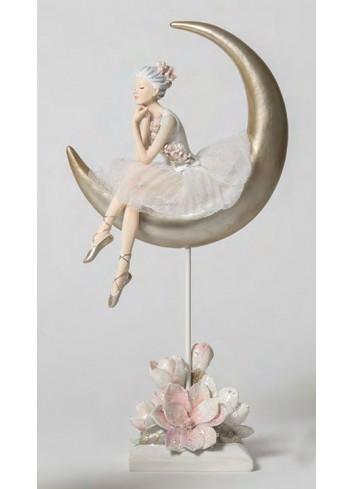 Ballerina grande su Luna B1805 Il lago dei Cigni Ad Emozioni