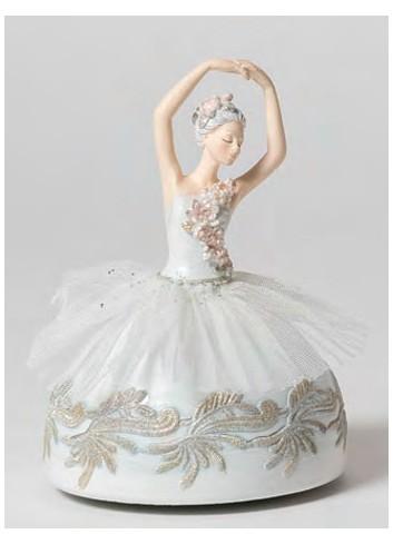 Carillon Ballerina B1802 Il lago dei Cigni Ad Emozioni