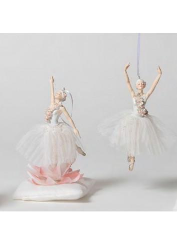 Ballerina piccola pendente 2 modelli assortiti + sacchetto B1801 A Il Lago dei Cigni Ad Emozioni
