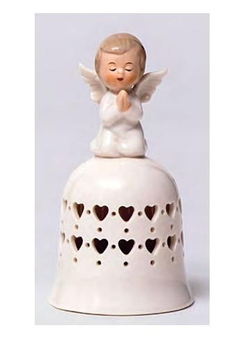 Campanella in porcellana Angelo A5707 Happyness Ad Emozioni