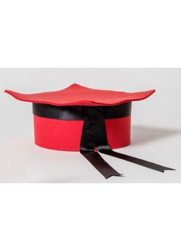 Cappello Laurea grande rosso 021947 Laurea Ad Emozioni