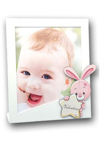 Portafoto Bimba con coniglietto rosa KID-01-02 Kids Negò