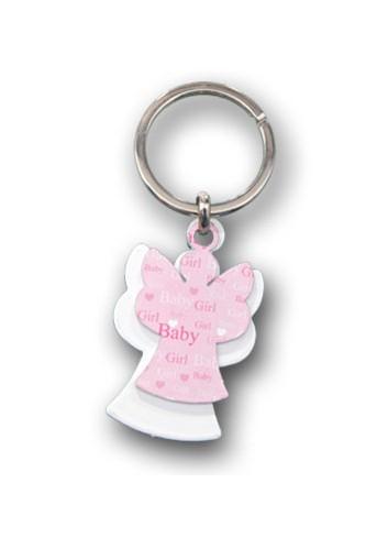 Portachiavi doppio Angioletto bianco + rosa KID-PC-02 R Serie Kids Negò