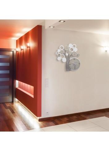 Orologio da parete in metallo e legno Albero della vita LFE-49 Serie Life 2020 Negò