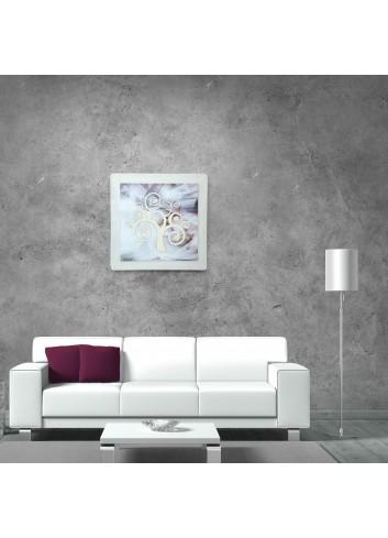 Tavola da parete + Cornice - decoro Albero IQ-CNZ-350-635-100 Serie Albero 2020 Negò
