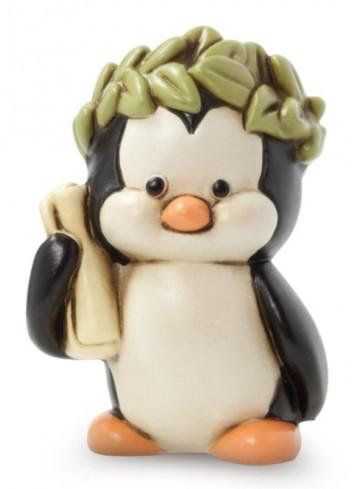 Pinguino con corona LA18PI-1CO Habemus Lauream Egan