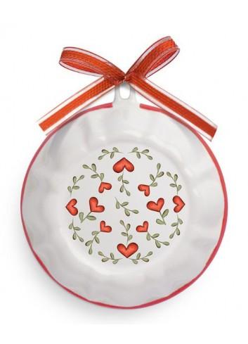 Formella dolci L'amore e l'amicizia rosso PTE08T-2S-3S Tea for Two Egan