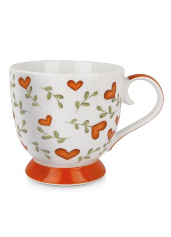 Tazza 410 ml L'amore e l'amicizia Rosso PTE12-1S Tea for Two Egan