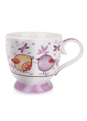 Tazza 410 ml Il Calore Viola PTE12-1VI Tea for Two Egan