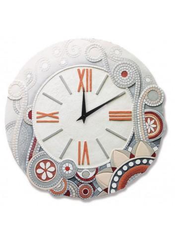 Orologio tondo Eclettica Corallo Rosa Ø 70 cm 47044CR Cartapietra