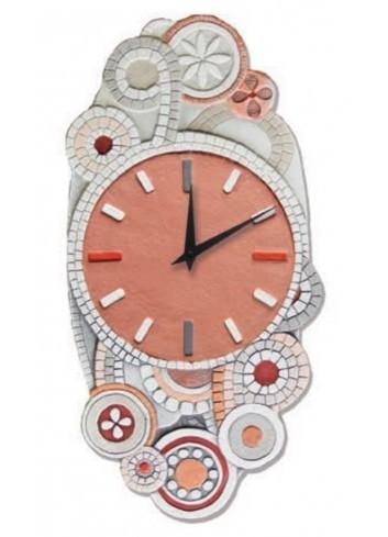 Orologio Eclettica Corallo Rosa 22 x 45 cm 44544CR Cartapietra