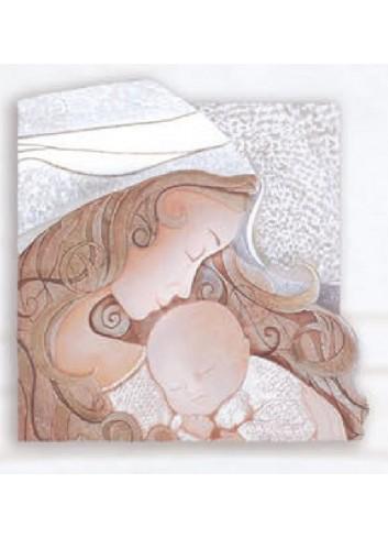 Quadro Il Bacio Neutro 27 x 26 cm 102580NT Cartapietra