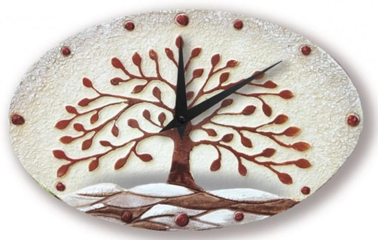 Orologio albero della vita cioccolato 43501co Cartapietra