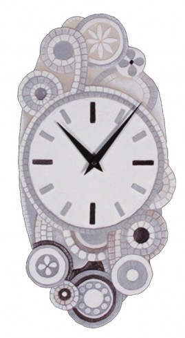 Orologio eclettica bianco 44544ba Cartapietra