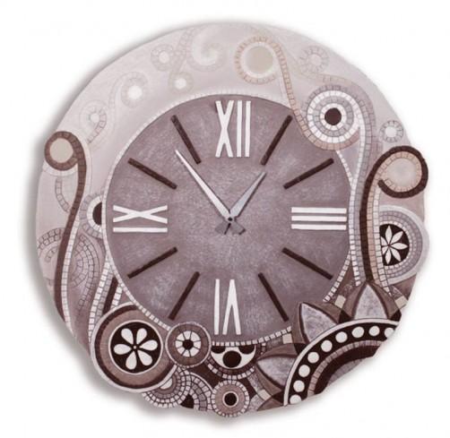 Orologio tondo eclettica moka 47044mo Cartapietra