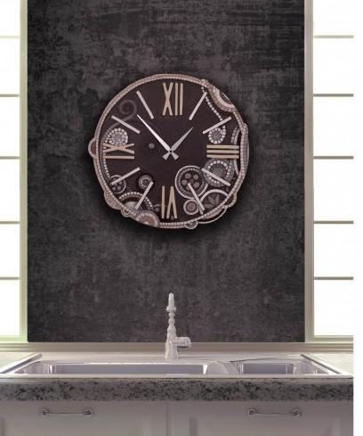 Orologio tondo eclettica moka 44844mo Cartapietra
