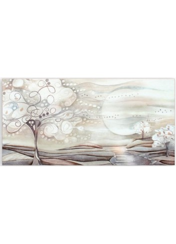 Quadro 100 x 50 1010106ba l'albero dei sogni Cartapietra