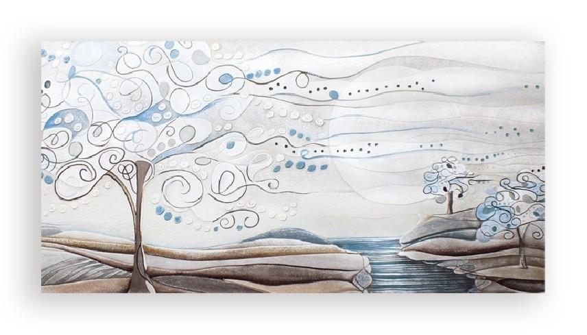 Quadro L'albero dei sogni carta da zucchero 1010106cz Cartapietra