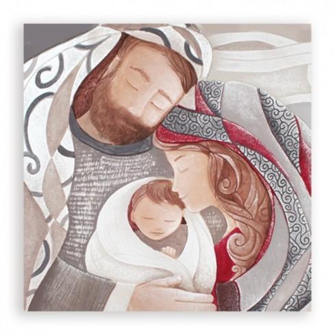 Icona Tenero abbraccio rosso 1045130ro Caelum Cartapietra