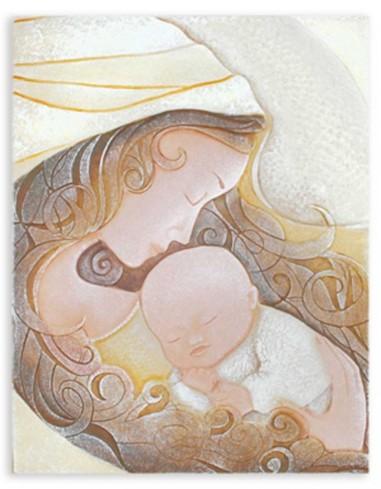 Icona Il Bacio oro pallido 103580op Caelum Cartapietra