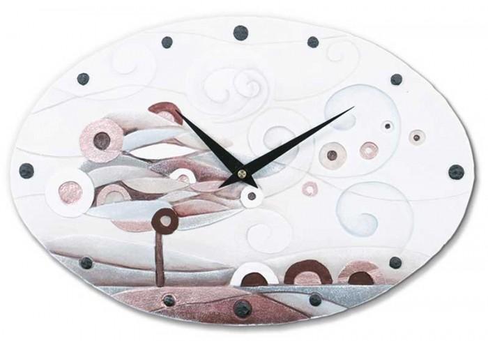 Orologio ovale Scompiglio rame 43540rm Cartapietra