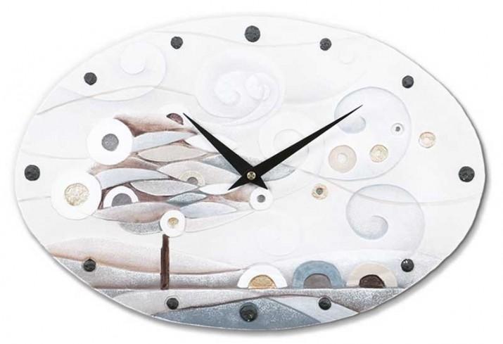 Orologio ovale Scompiglio bianco oro 43540ba Cartapietra