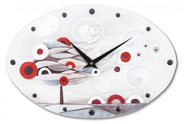 Orologio ovale Scompiglio rosso 43540ro Cartapietra