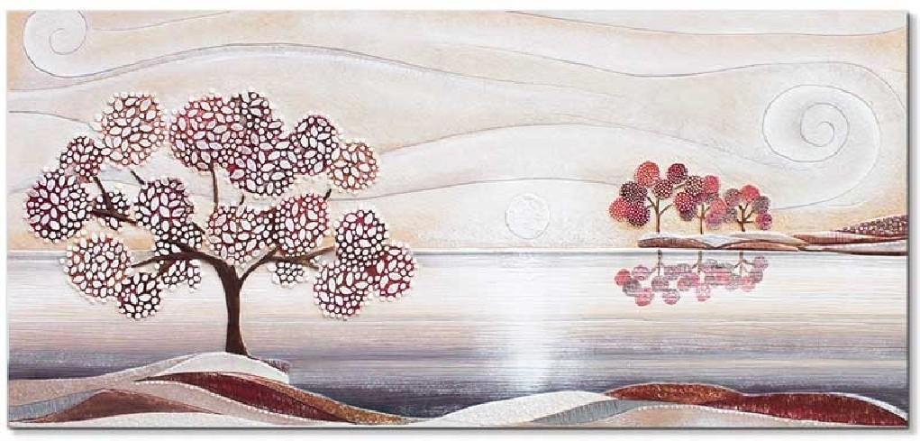 Quadro Un Posto Tranquillo Rosso 101513ro Cartapietra