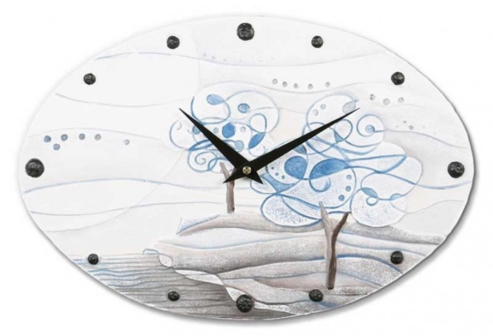 Orologio ovale L'albero dei sogni carta da zucchero 435106cz Cartapietra