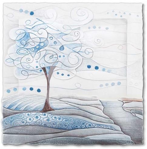 Quadro L'albero dei sogni carta da zucchero 1105106cz Cartapietra