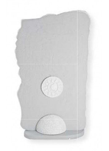 Scultura luminosa Eclettica bianco SL4544BA Cartapietra