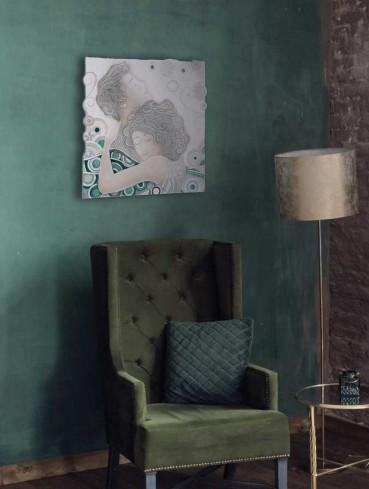 Formella Respiro Verde 50 x 50 cm 110544ve Cartapietra