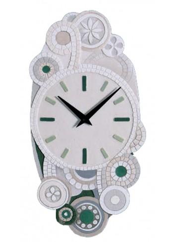 Orologio Eclettica verde 22 x 45 cm 44544ve Cartapietra