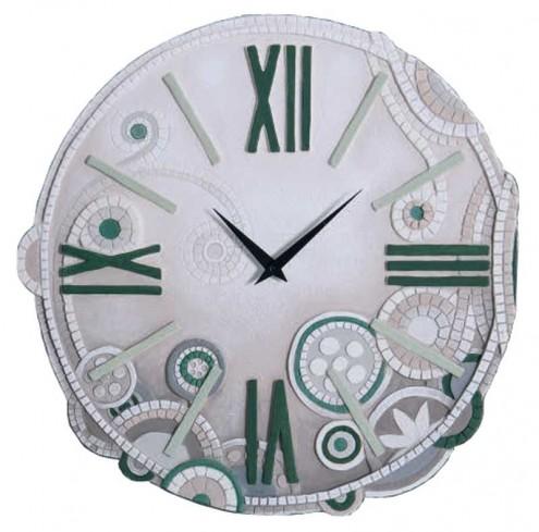 Orologio tondo eclettica verde Ø 48 cm 44844ve Cartapietra