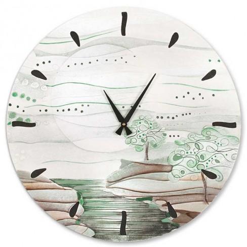 Orologio L'albero dei sogni verde natura Ø 60 cm 460106vn Cartapietra