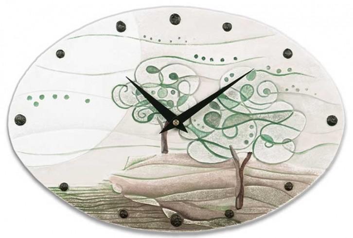 Orologio ovale L'albero dei sogni verde natura 435106vn Cartapietra