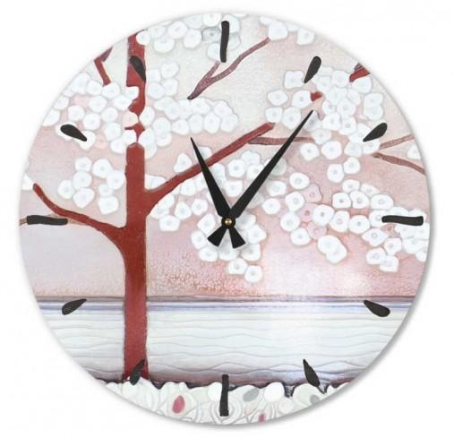 Orologio La prima luce rosa 45 x 45 cm 445107ra Cartapietra