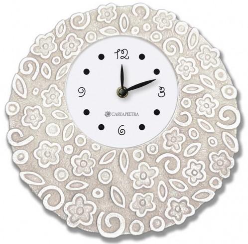 Orologio profumato rotondo Prati in fiore neutro Ø 22 cm pb022nt Cartapietra