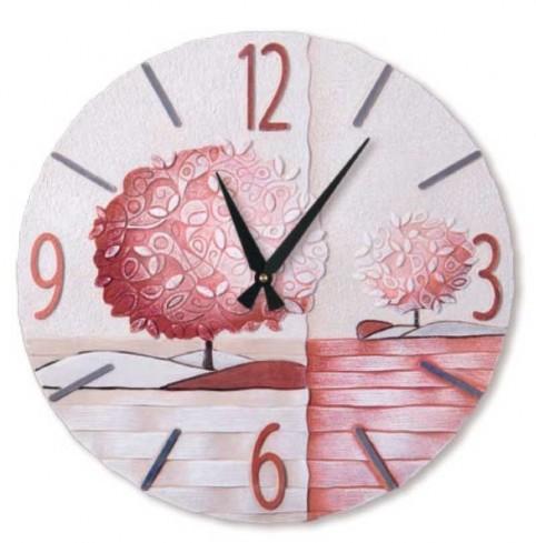 Orologio Un nuovo orizzonte Corallo Ø 45 cm 44516cr Cartapietra