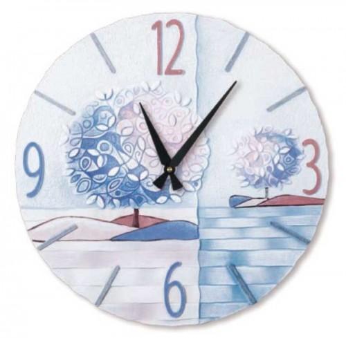 Orologio Un nuovo orizzonte Iris Ø 45 cm 44516ir Cartapietra