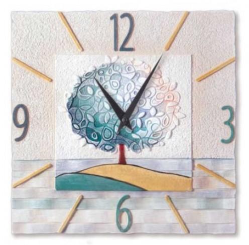 Orologio Un nuovo orizzonte Tè 40 x 40 cm 44016tè Cartapietra