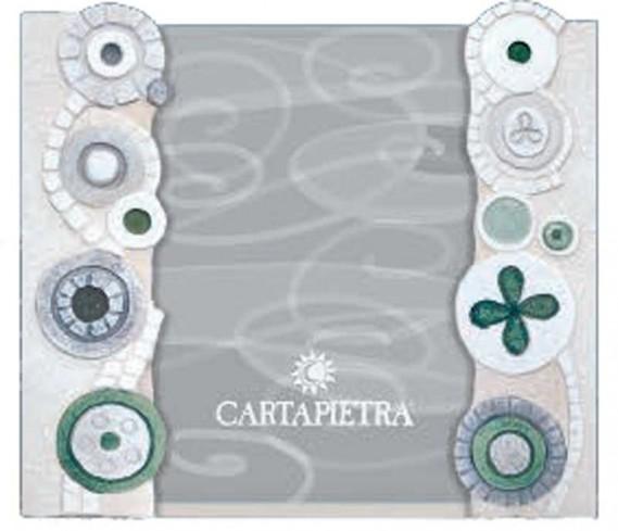 Portafoto eclettica verde R131844ve/R182444ve Cartapietra