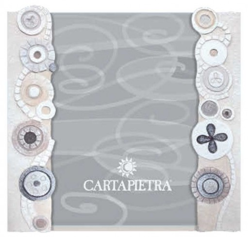 Portafoto eclettica bianco R131844ba/R182444ba Cartapietra