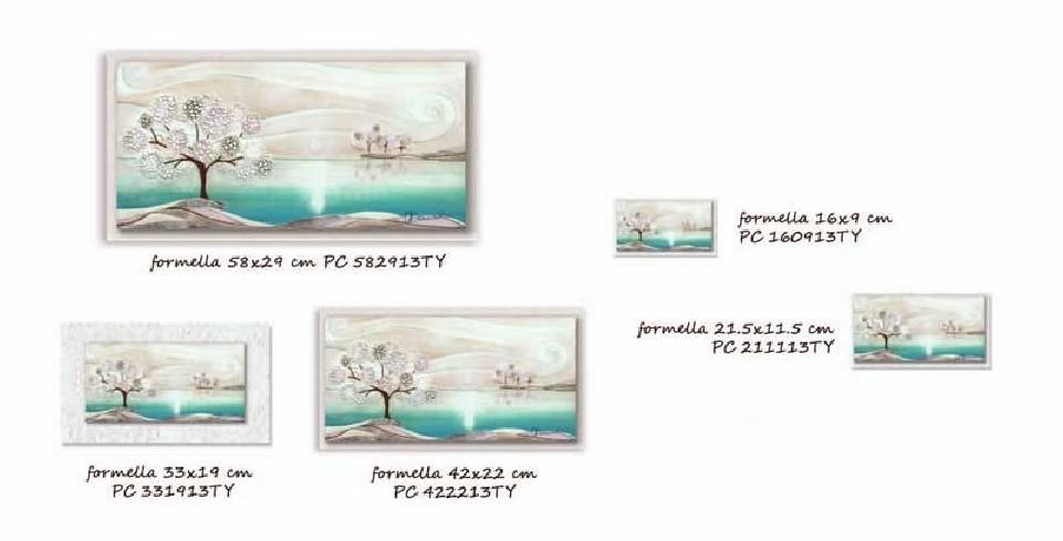 Formella Un posto tranquillo Tiffany Piccoli capolavori Tra terra e mare Cartapietra