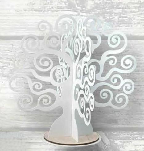 Albero della vita in metallo bianco EDN-01-02-03 Eden Negò