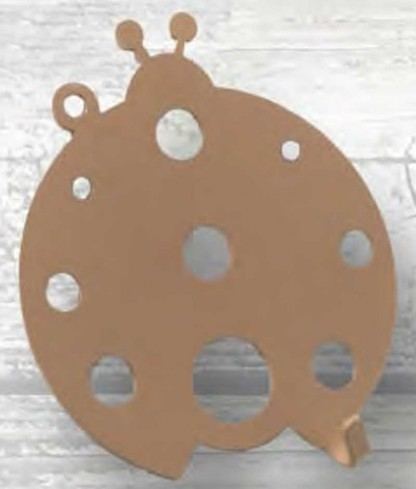 Appendino Coccinella in metallo APE-01 Appendi-Mi Eco Negò