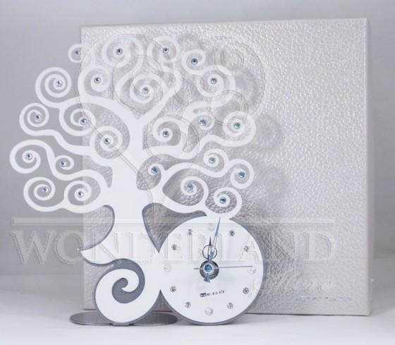 Orologio Natura bianco da appoggio Neg-103 Negò
